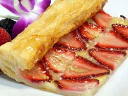 Puff Strawberry Tart