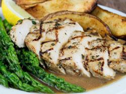 Grilled Chicken Au Jus