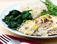 Organic Lemon Chicken Breast