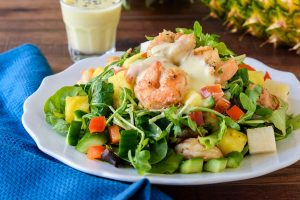Weight Loss Meal Plan Delivery Shrimp Salad ZenFoods