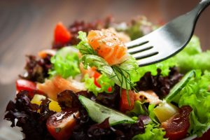 healthy meal delivery service sample salad