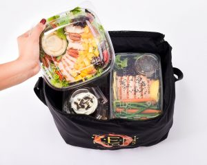 healthy meal delivery zenfoods bag