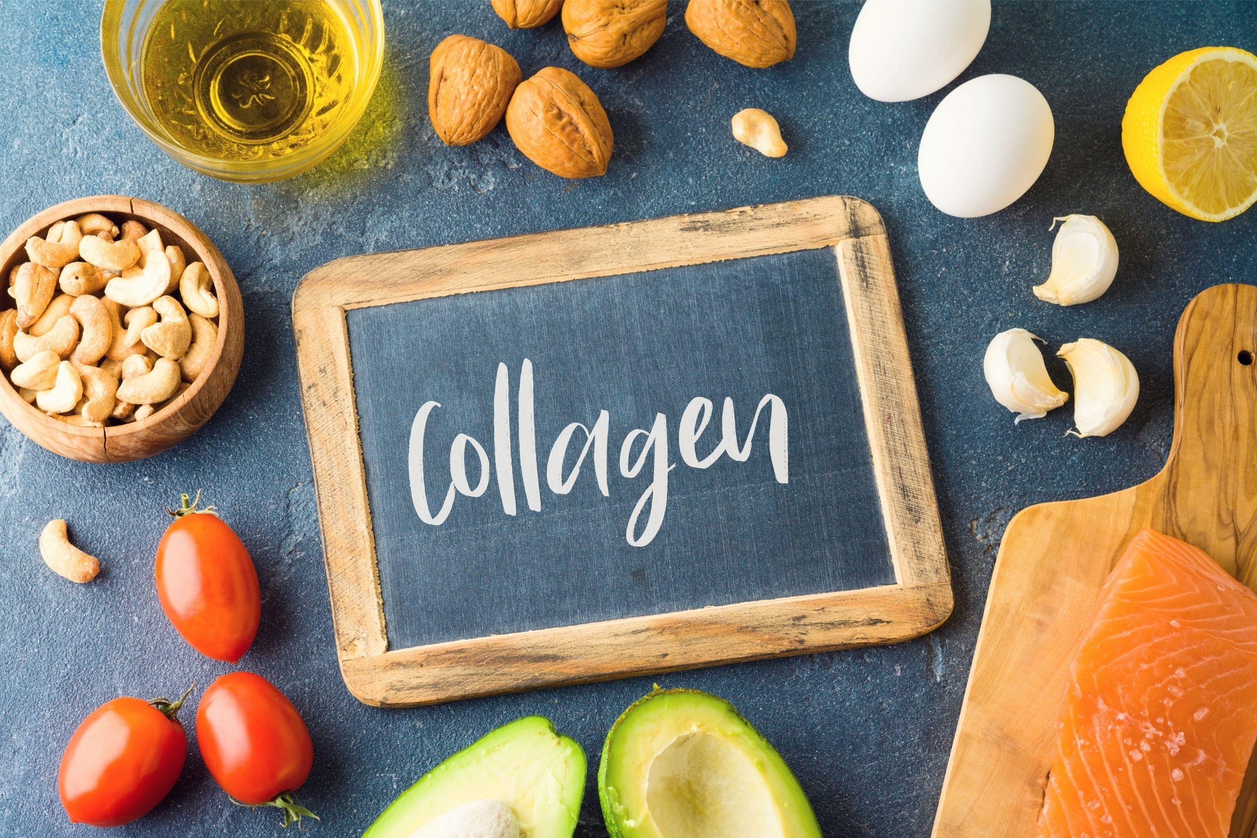 collagen diet concept image